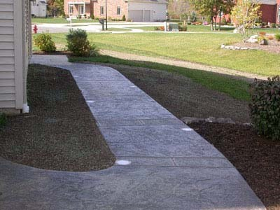 Concrete Borders and Retaining Walls Solid Ground Inc